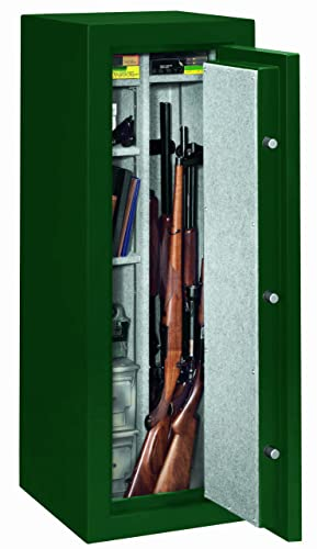 Stack-On FS-14-MG-C 14-Gun Fire Resistant Safe with Combination Lock, Matte Hunter Green review