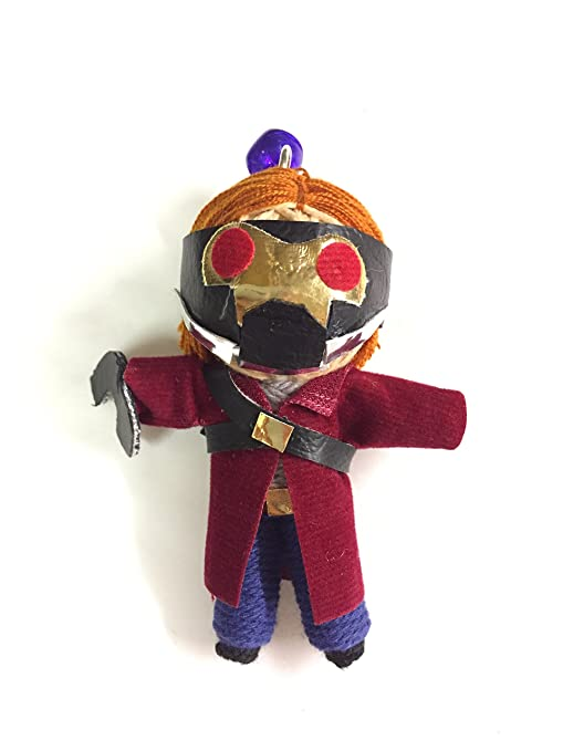 Star-Lord Star Lord vudú muñeca de cuerda llavero: Amazon.es ...