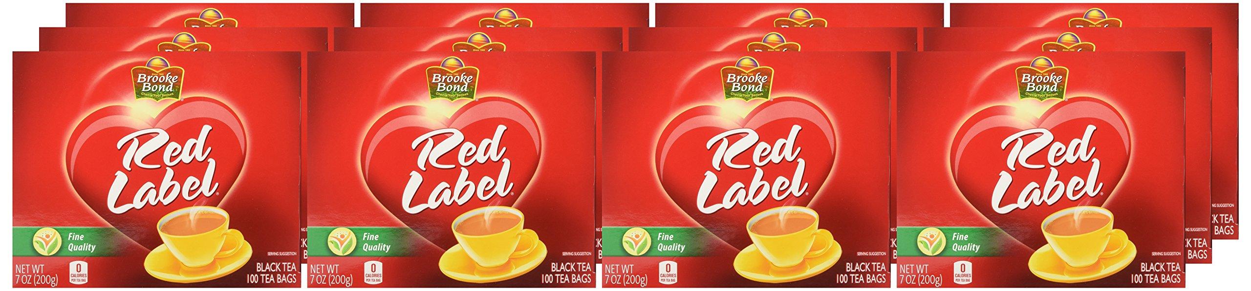 Brooke Bond Red Label Tea Bags, 100 Count (Pack Of 12) by Brooke Bond (Image #2)