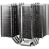 Silverstone SST-HE02 - Ventilador de CPU, plateado