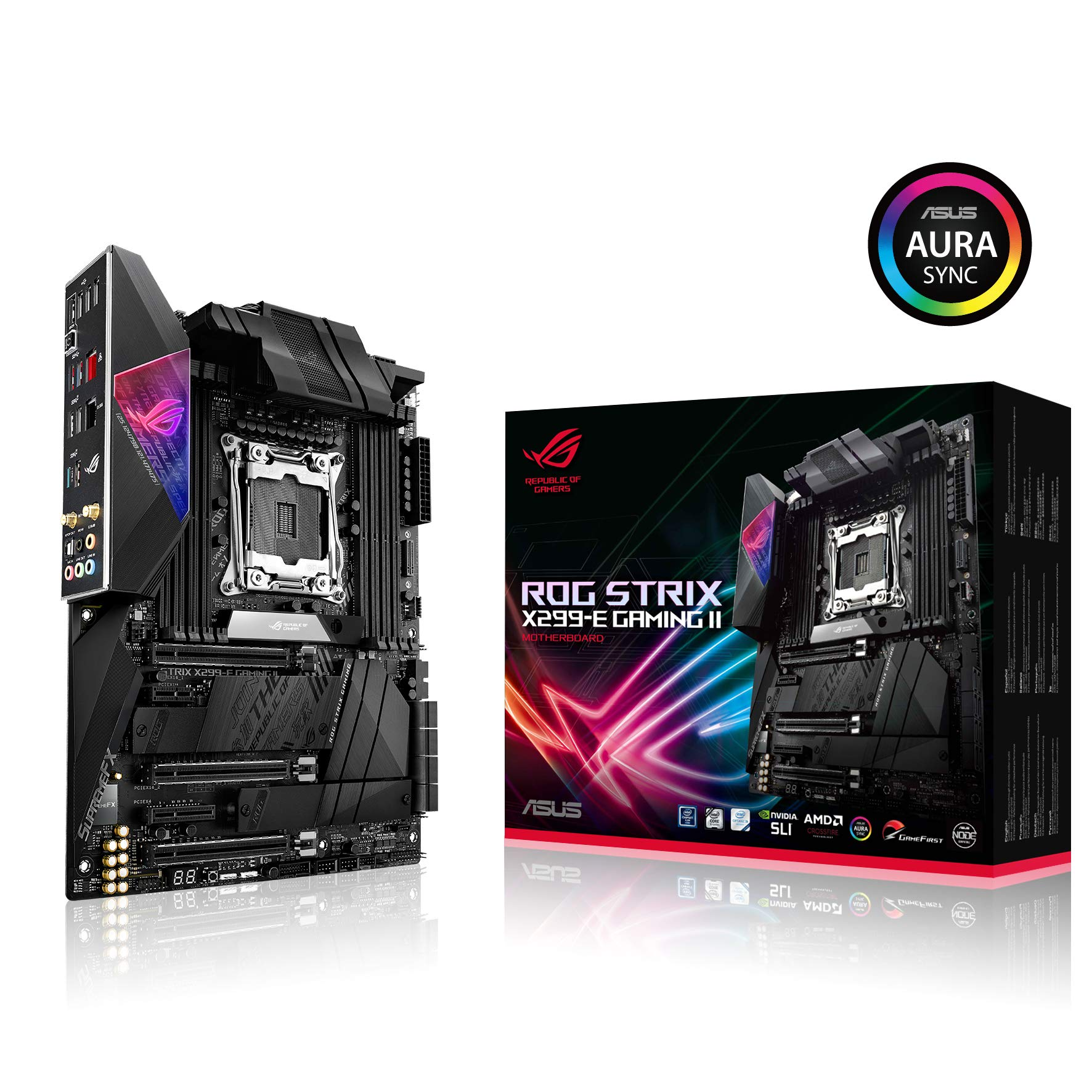 Asus Rog Strix X299-e Gaming Ii Atx Gaming Motherboard (i...