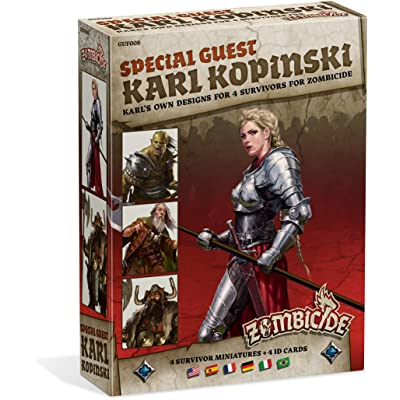 Zombicide: Black Plague Special Guest Karl Kopinski Board Game: Toys & Games