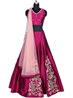 Lehenga choli (Suppar for wedding function salwar suits for women gowns for girls party wear 18 years latest Lehenga Choli collection 2018 new design dress for girls new collection today low price new gown for girls party wear)