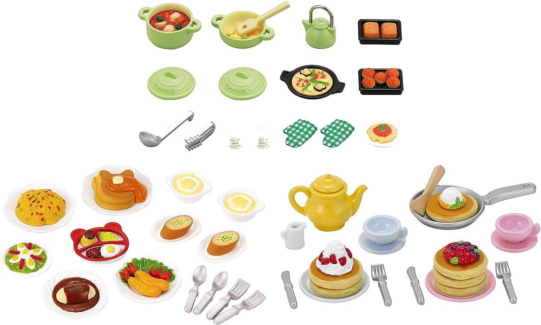 Best Japan Shopping - 3 Food Sets - Cooking Set, Lunch Set and Pancake Set - (Japan Import)