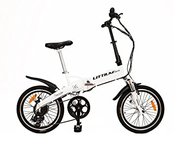 Bici elctrica plegable kaos