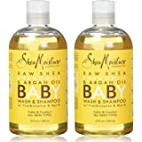 Shea Moisture Raw Shea Butter Baby Head-to-Toe Wash & Shampoo, 13 Oz, Pack of 2