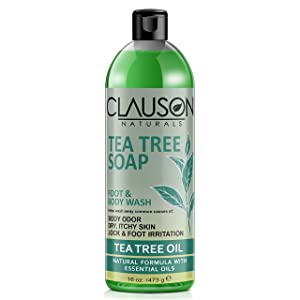 Clauson Naturals Organic Tea Tree Oil