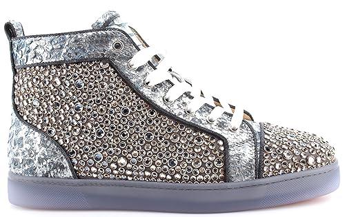 2c056b021ff0b CHRISTIAN LOUBOUTIN Paris Zapatos Hombre Sneakers Louis Orlato Flat Python  Spada  Amazon.es  Zapatos y complementos