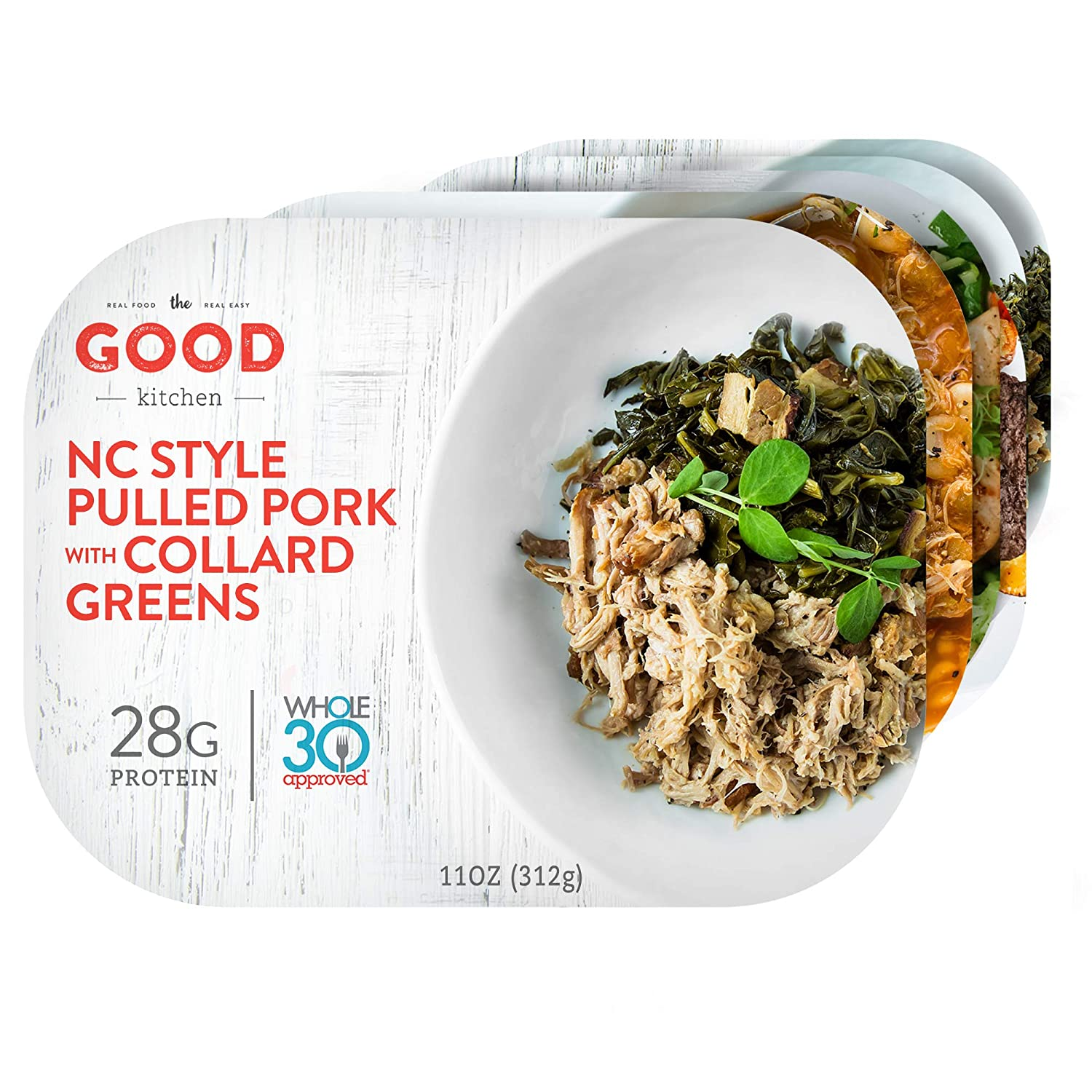 The Good Kitchen Healthy Fully Prepared Frozen Meals Variety Pack | Paleo, Whole30, Gluten-Free Individual Meals | 11 Ounce (Pack of 10)