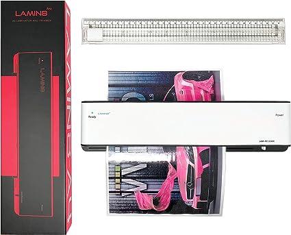 Amazon.com: VViViD Lamin8 A4 máquina laminadora térmica con ...