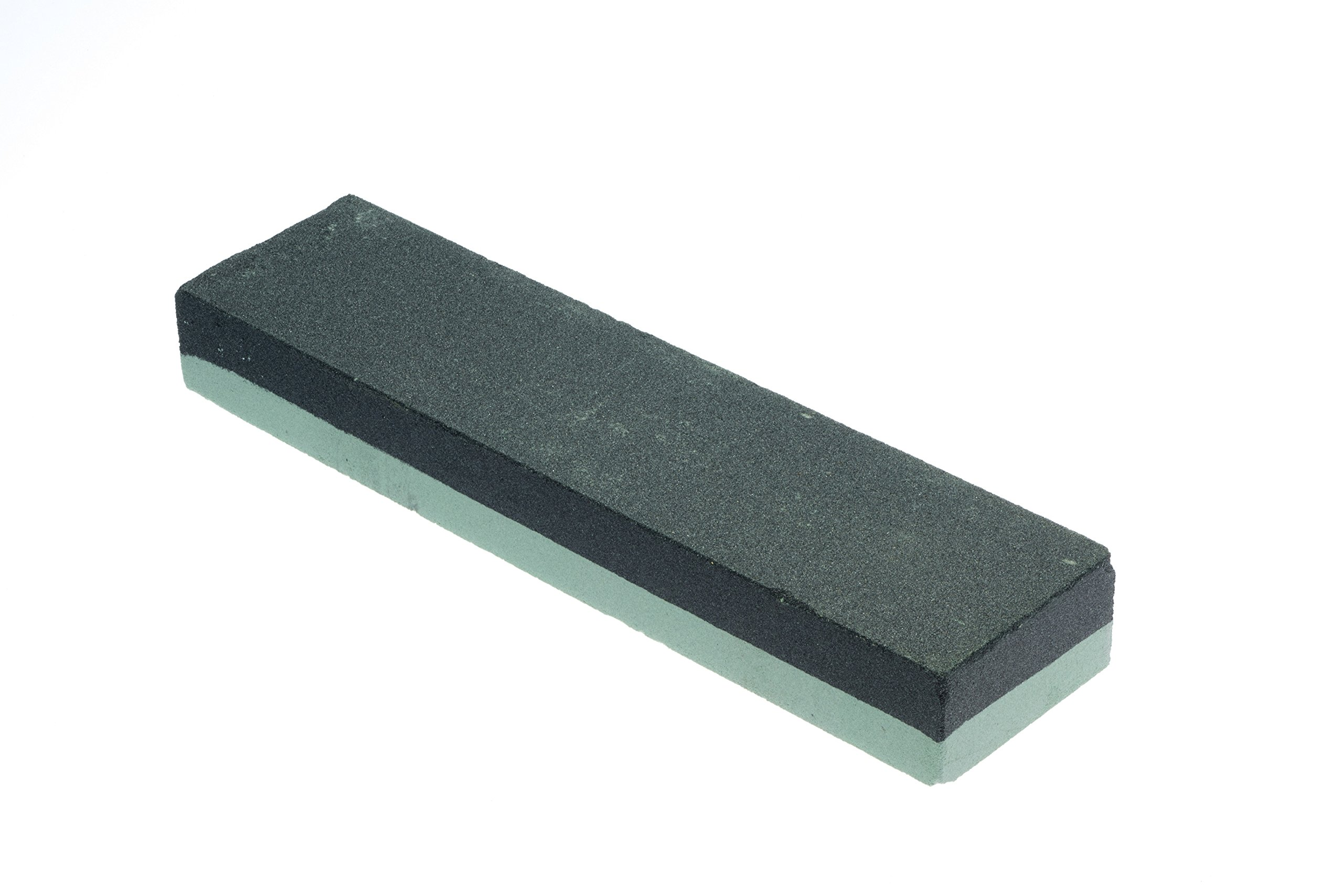 SE SS73BG 8'' Silicon Carbide Double-Sided Whetstone, Grits 180 and 240