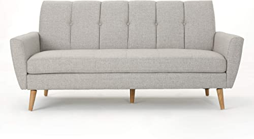 Christopher Knight Home Treston Mid-Century Fabric Sofa