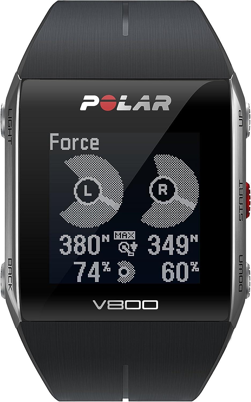 Polar V800 - Pulsómetro de Entrenamiento, Color Negro: Amazon.es ...