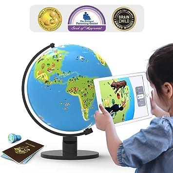 a385f5a56ee PlayShifu Shifu Orboot: el Globo Educativo con Base de Realidad Aumentada    Juguete Stem para niños ...