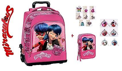 Mochila Escolar Miraculous Ladybug Universidad Viaje ...