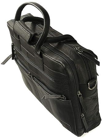4e0b3b309d502 Fa.Volmer® Herren Echt-Leder Business-Tasche für Notebook  Bag82035 ...