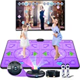 Electronic Dance Mats,Dance Mat Double Game for Kids and Adults with Massage Button,Indoor Portable Musical Dancing Mat with