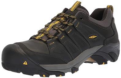 7b1f610c201 KEEN Utility Men's Boulder Steel Toe Waterproof Industrial Shoe