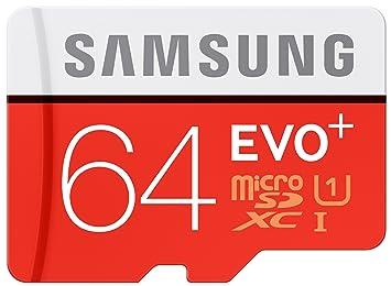 Samsung microSDHC Class 10 64GB Evo+ mit Adapter