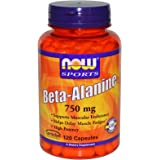 Now Foods Beta-Alanine - 120 Capsules (Pack of 2)