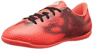 reputable site 17022 9263c adidas Performance F5 Indoor J Soccer Shoe (Little Kid Big Kid), Solar