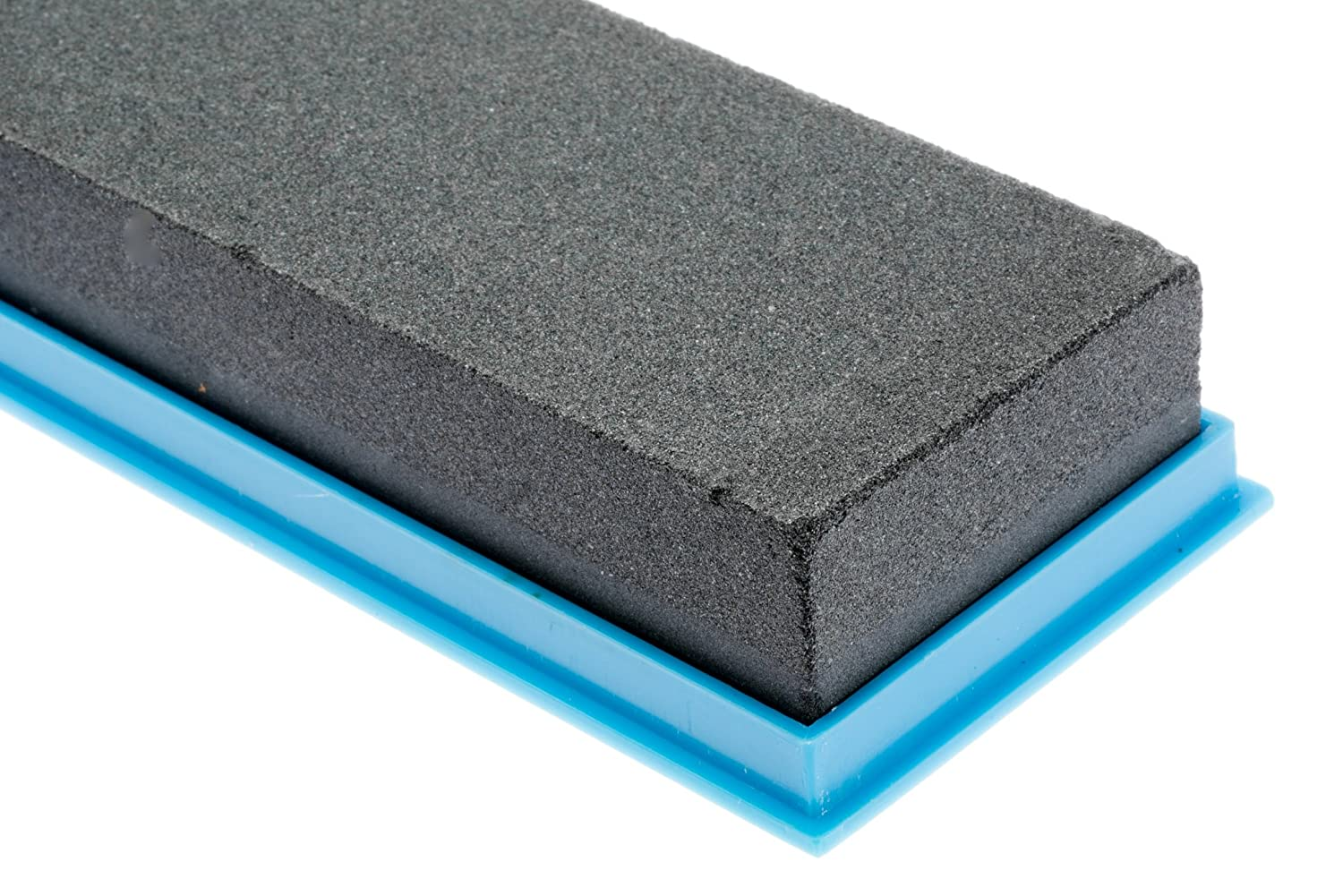 Grits 120 /& 240 SE SS72BK 8 Silicon Carbide Double-Sided Whetstone