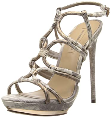 100% guaranteed huge surprise online BCBG Max Azria Metallic Platform Sandals nicekicks cheap price 4oXKe