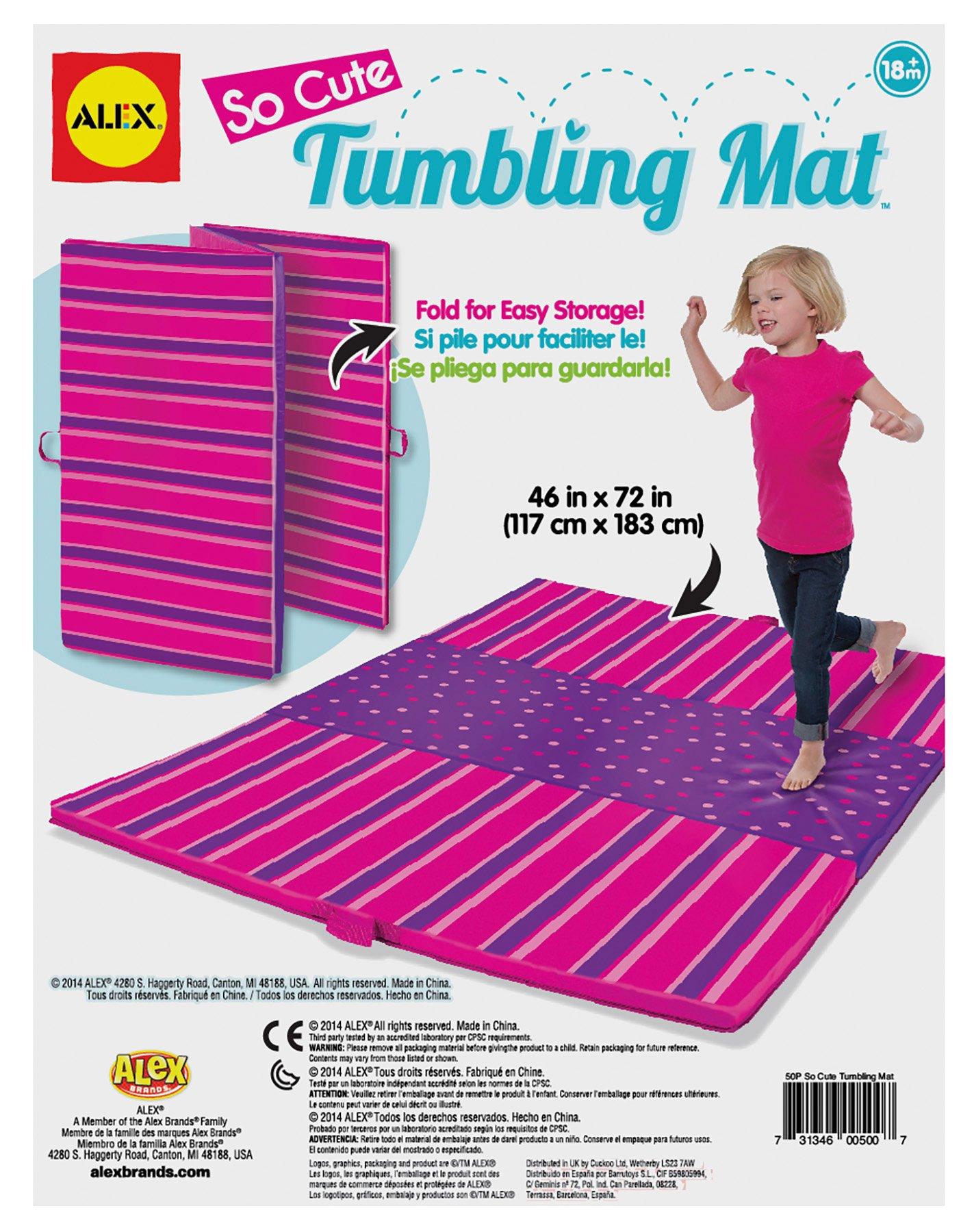 ALEX Toys Active Play Tumbling Mat So Cute