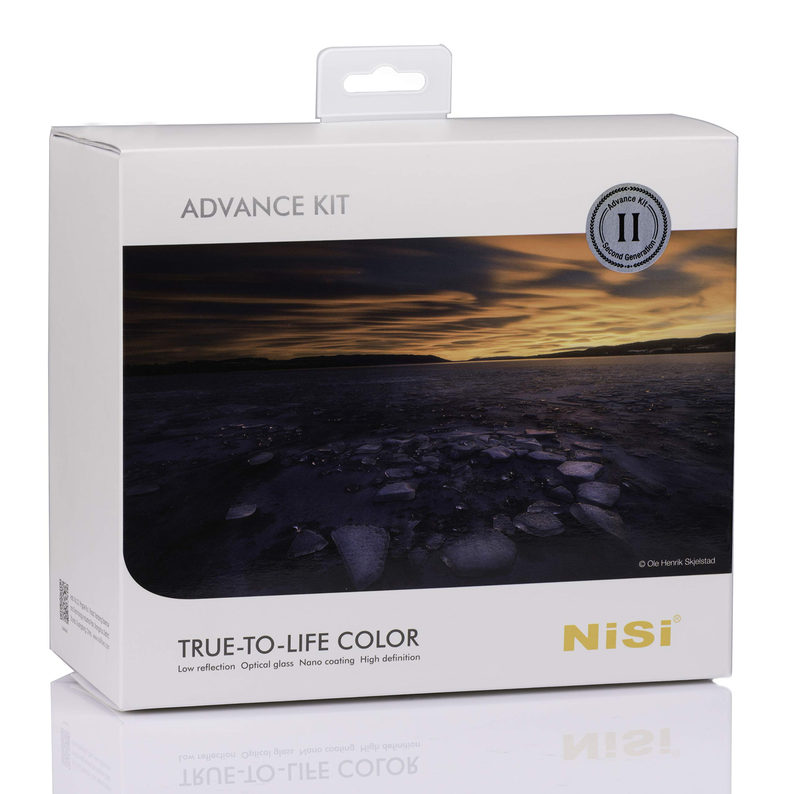 NiSi 100mm System Advanced Filter Kit-V5 Pro Filter Holder, ND Filters and Accessories by NiSi