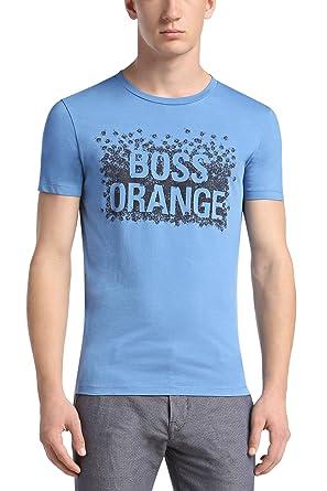 951191892 Amazon.com: Hugo Boss Tamplin 1 T-Shirt, Open Blue: Clothing