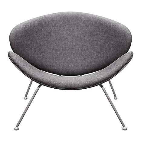 Amazon.com: Diamond Sofa Roxy - Silla de centro de tela con ...