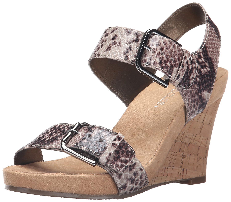 1afda8d0c7 Amazon.com | Aerosoles Women's MEGA PLUSH Wedge Sandal | Platforms & Wedges