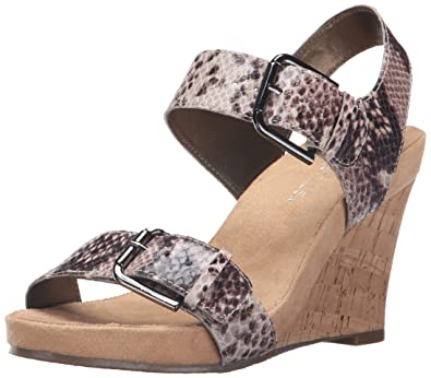 63a1cbf7a Amazon.com | Aerosoles Women's MEGA PLUSH Wedge Sandal | Platforms ...
