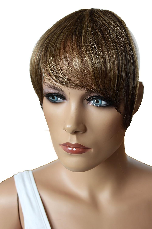 PRETTYSHOP 100% Echthaar Pony Human Hair Haarteil Haarverdichtung Haarverlängerung H313i