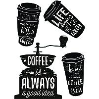 Plage Decoración Mural Adhesiva con Diseño Café Starbuck