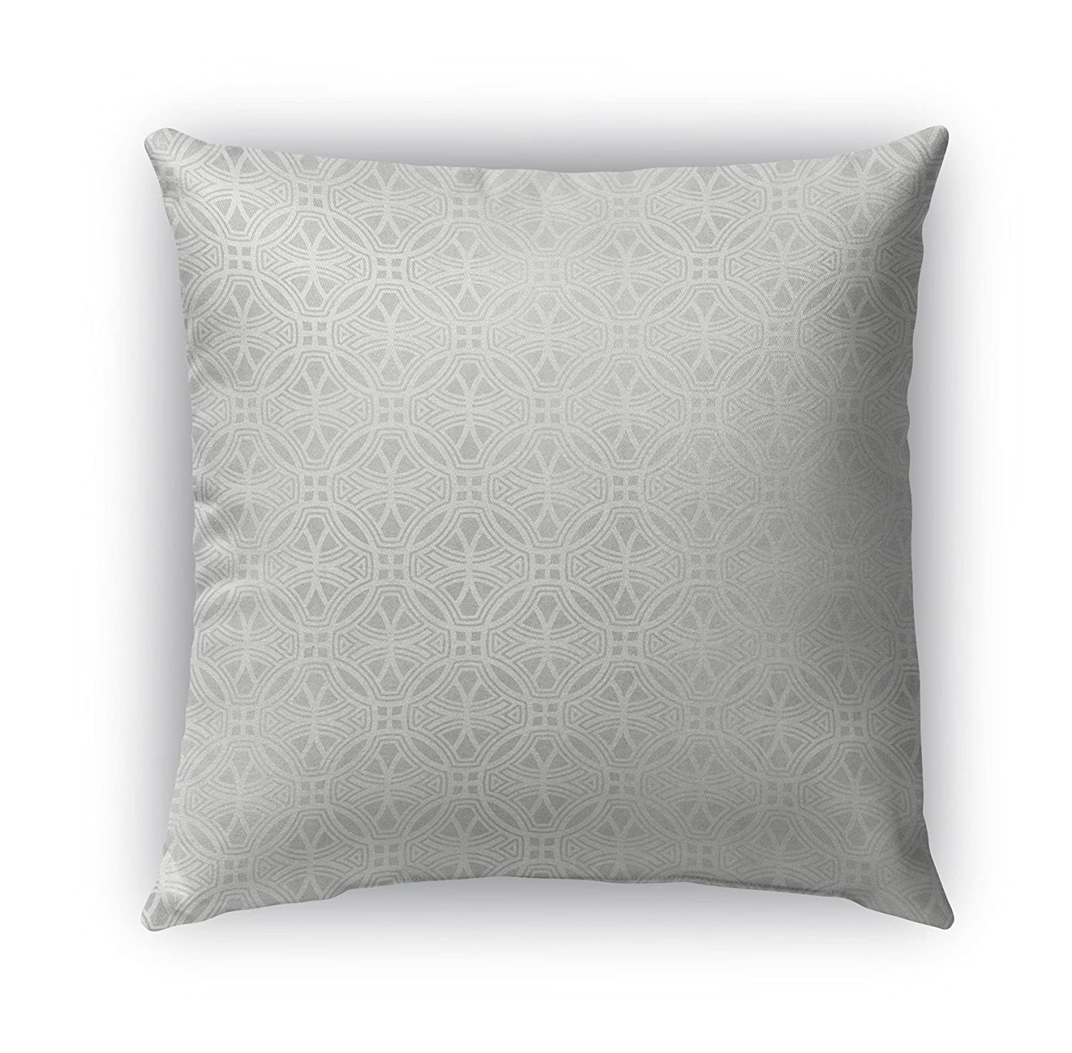 TELAVC8014OD20 KAVKA Designs Collegno Indoor-Outdoor Pillow, Size: 20X20X6 - Grey - Encompass Collection