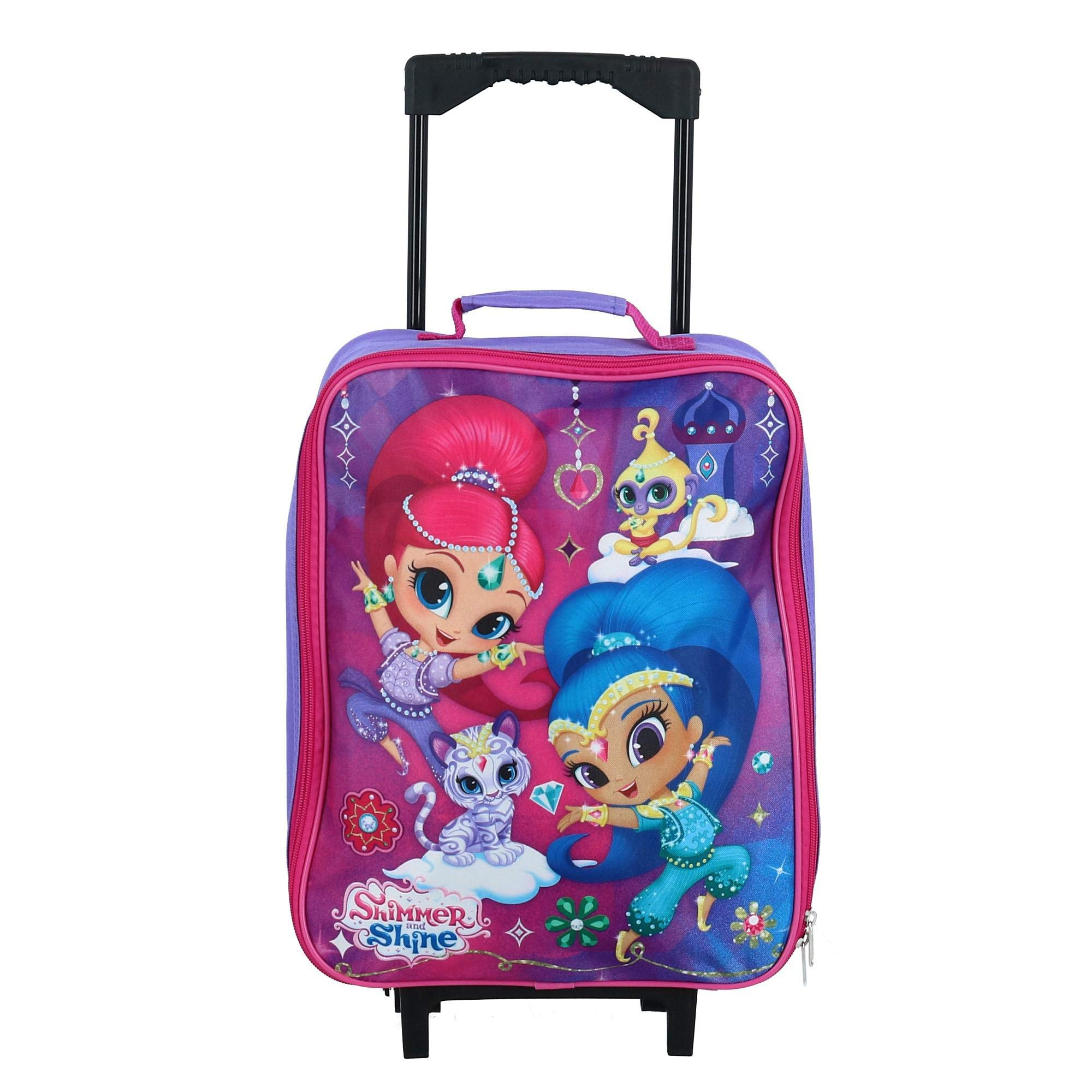Cartoon Magic Unicorn Spandex Trolley Case Travel Luggage Protector Suitcase Cover 28.5 X 20.5 Inch