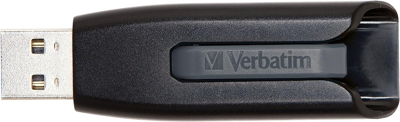 Verbatim 256GB Store 'n' Go V3 USB 3.0 Flash Drive - Gray