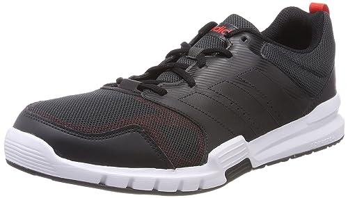 Adidas hombre 's Essential Star 3 zapatos de fitness, negro (cblack / hirere