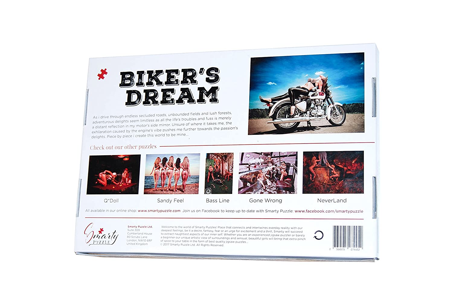 Biker's Dream - 1000 pieces ~ Sexy Adult Puzzle: Smarty
