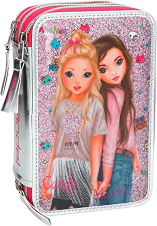 Top Model- Estuche Triple Friends, Color Rosa (008989A): Amazon.es: Juguetes y juegos