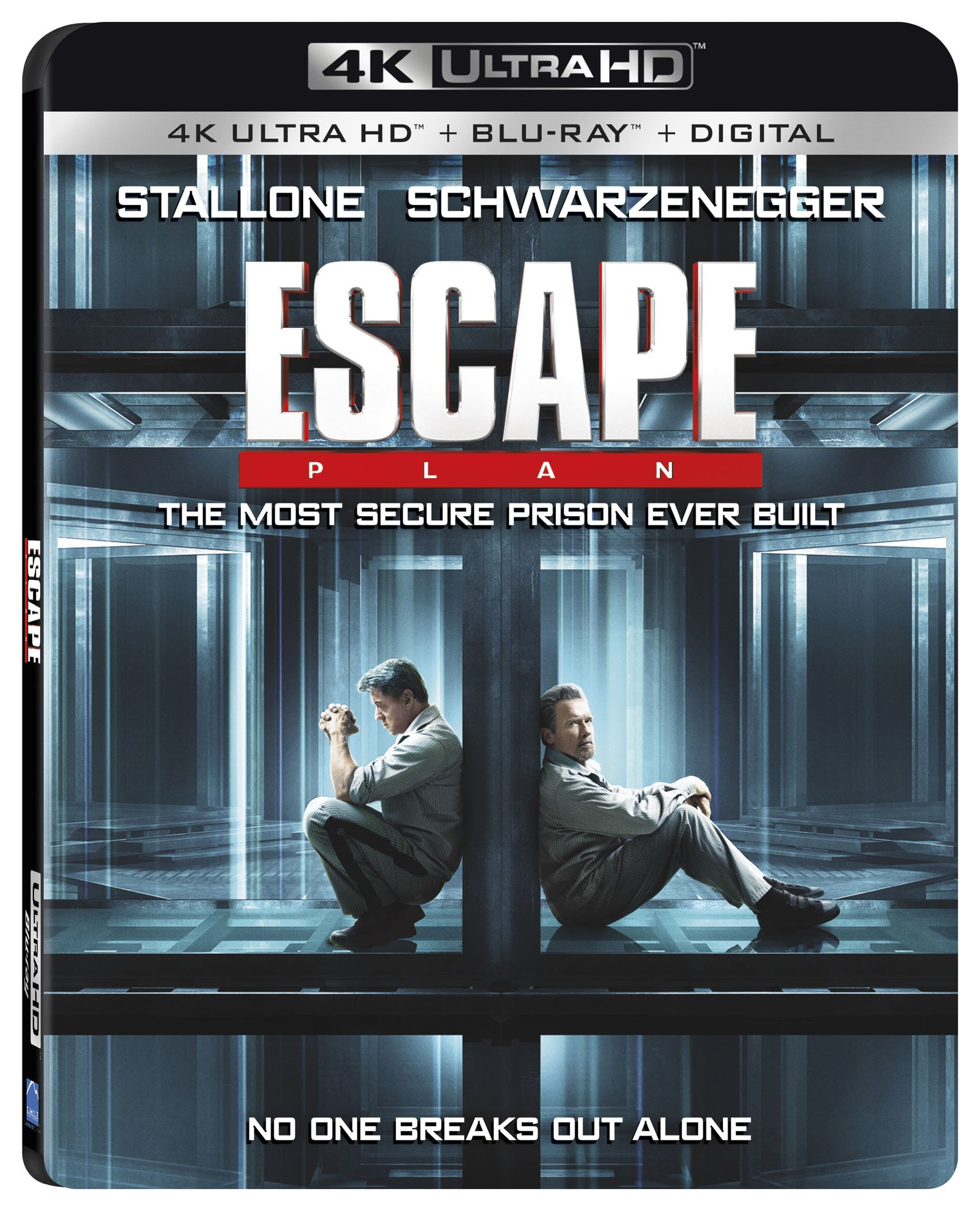 4K Blu-ray : Escape Plan (With Blu-Ray, 4K Mastering, Dolby, AC-3, 2 Pack)