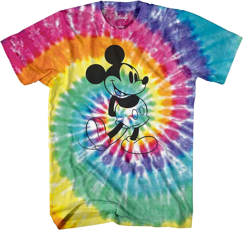 Disney Mens Mickey Mouse Shirt - Classic Mickey Mouse Tee Shirt - Mickey Graphic T-Shirt