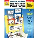 Evan-Moor EMC3724 History Pockets: The American