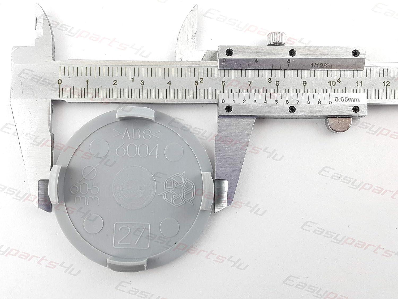 A25-27 56mm per cerchi in lega 4x tappi centrali universali 60mm