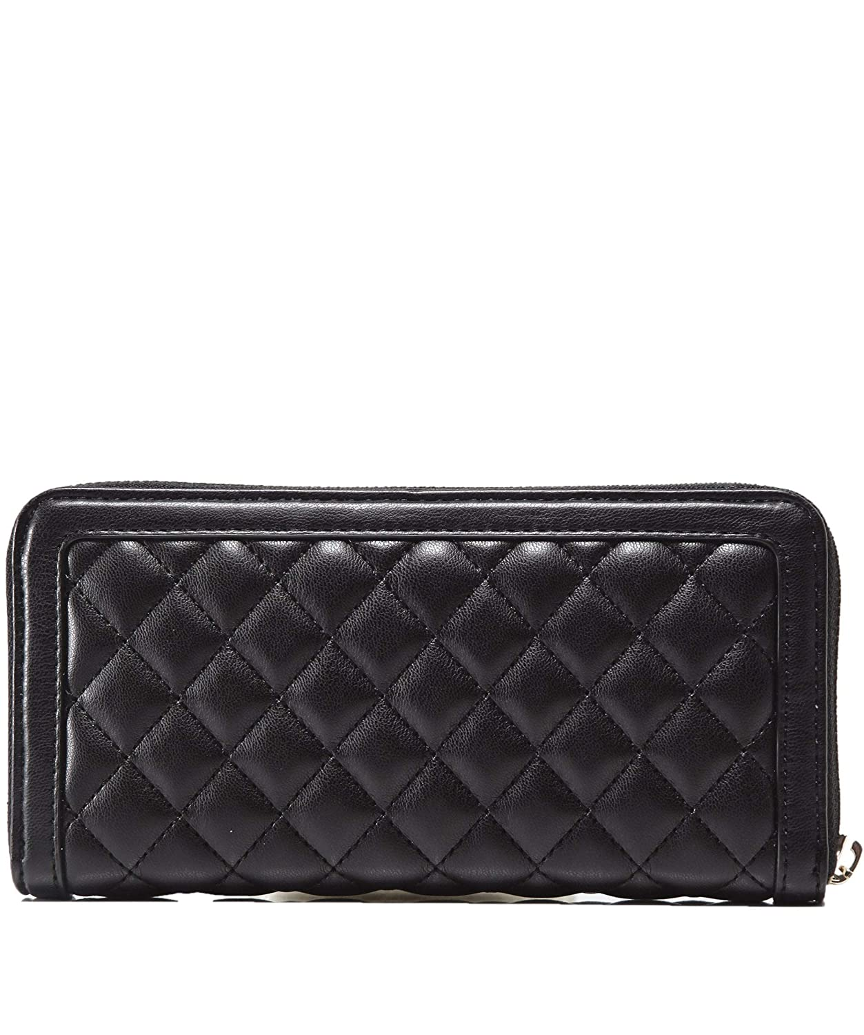 e0efd0670f05 Amazon.com: Moschino Love Moschino Women's Quilted Logo Purse Black One  Size: Shoes