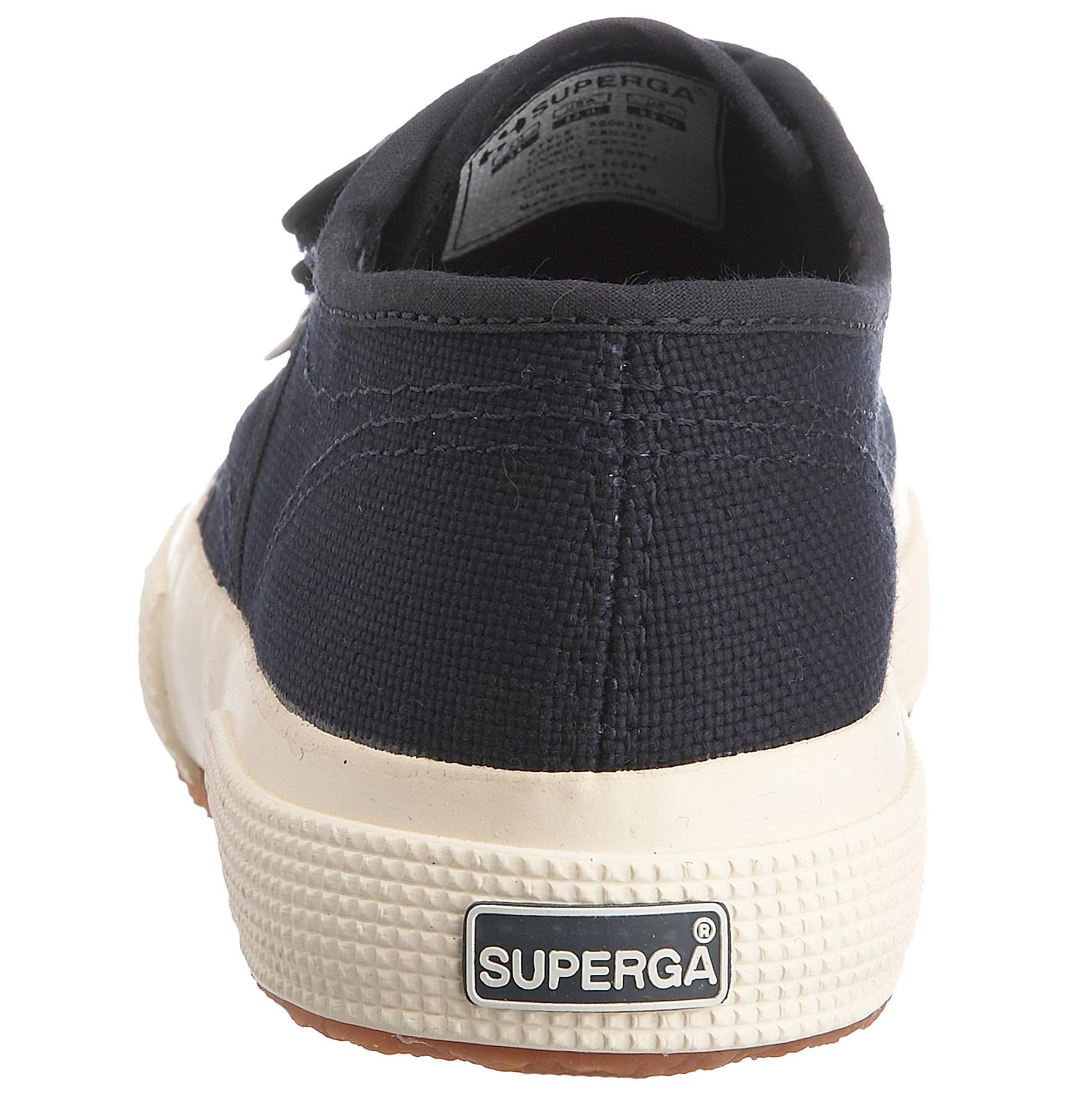 Superga Junior 2750 JVEL Canvas Trainer Navy-933 Gs0003E0 11.5 Child UK by Superga (Image #2)