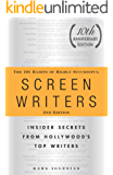 The 101 Habits of Highly Successful Screenwriters, 10th Anniversary Edition: Insider Secrets from Hollywood's Top Writers (English Edition)