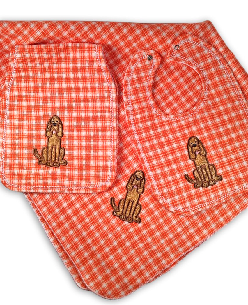 Gift For Baby Tennessee Volunteers Nursery Bundle Plaid