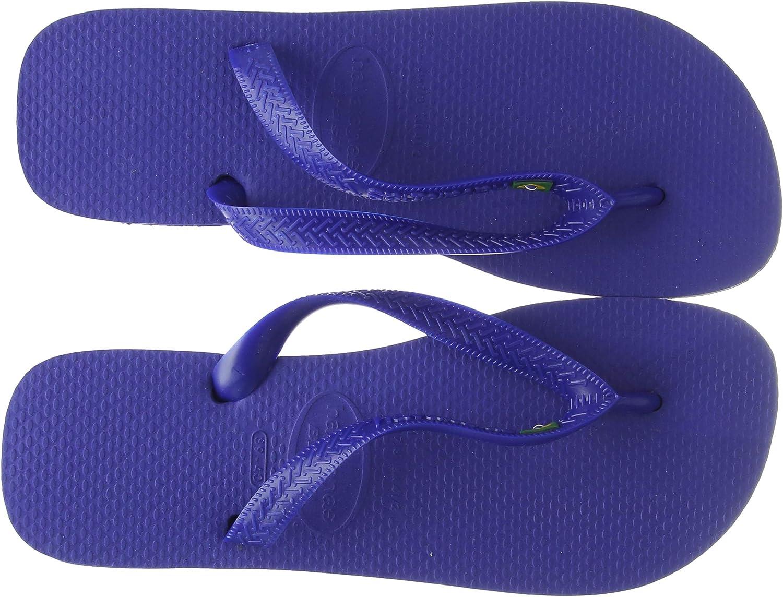 Havaianas Nueva marca hombres de Brasil chanclas sandalias azul marino UK 8 – 12, color Azul, talla 41 EU: Amazon.es: Zapatos y complementos